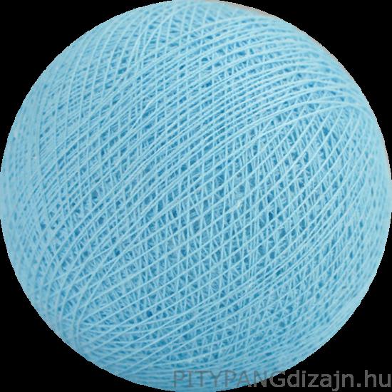Cotton Ball lights/ gömbök -  baby blue