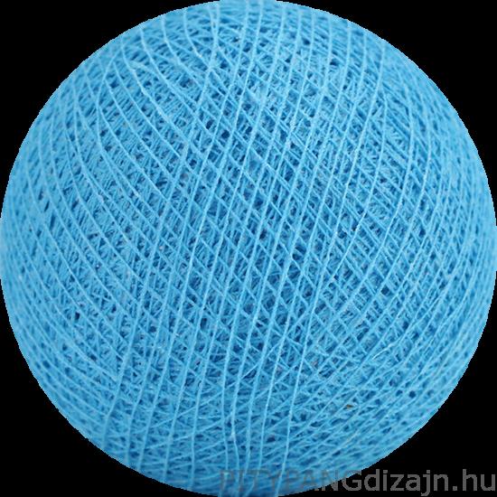 Cotton Ball Lights/ gömbök - bright blue