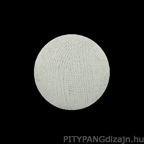 Cotton Ball Lights/ gömbök - Chalk grey