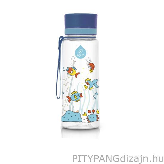 EQUA BPA mentes műanyag kulacs/ Equarium kék ÚJ!