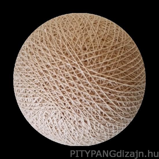 Cotton Ball Lights/ gömbök - sand