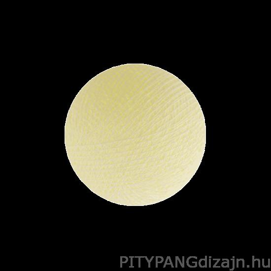 Cotton Ball Lights/ gömbök - Ivory