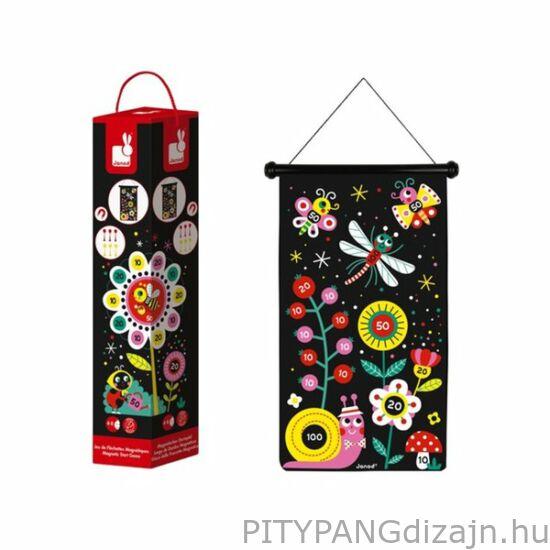 Janod - Mágneses darts - virágos