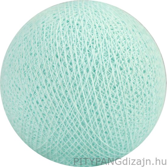Cotton Ball Lights/ gömbök - light aqua