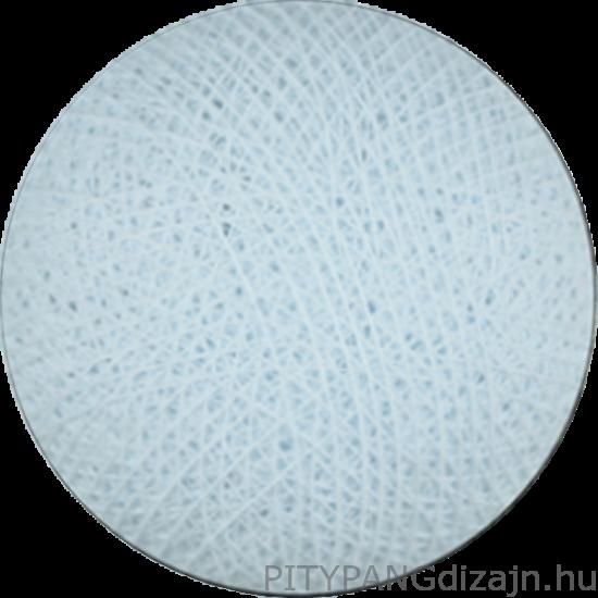 Cotton Ball Lights/ gömbök - light blue