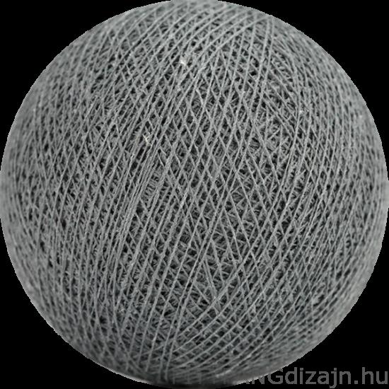 Cotton Ball Lights/ gömbök - mid grey