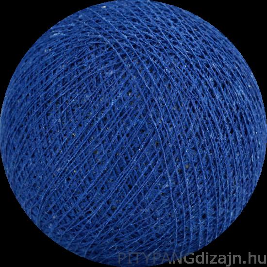 Cotton Ball Lights/ gömbök - royal blue