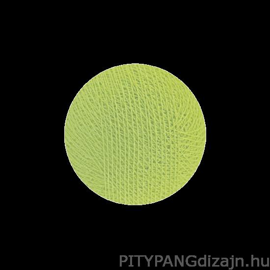 Cotton Ball Lights/ gömbök - Soft green