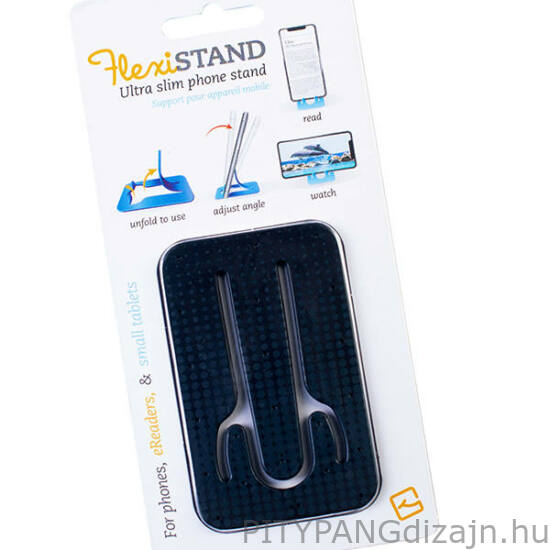 Flexistand mobiltelefon tartó - Black Dots