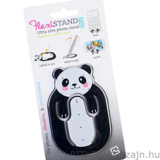 Flexistand mobiltelefon tartó - panda