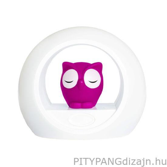 ZAZU / LOU – Hangérzékelős éjjeli lámpa, rózsaszín
