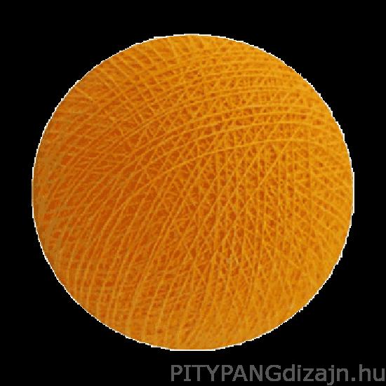 Cotton Ball Lights/ gömbök -sunny yellow