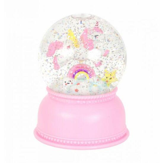 A Little Lovely Company - Unikornis Csillámgömb jelzőfény